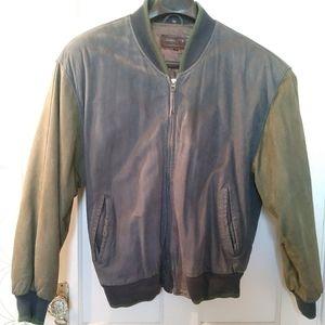 Vintage/Johnston & Murphy/Mens/Leather jacket